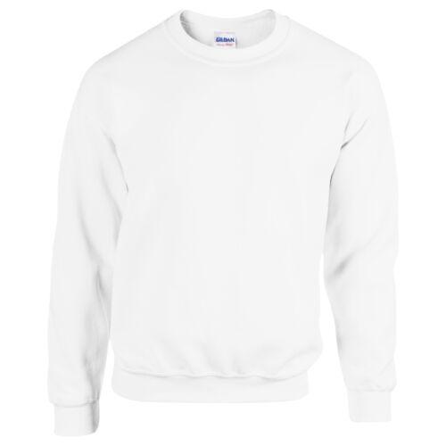 Gildan Heavy Blend Crew Neck Men/'s Plain Sweatshirt Soft Jersey Jumper S 5XL