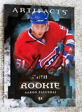 Montreal Canadiens Aaron Palushaj Signed 11/12 Artifacts Rookie #/999 Card Auto