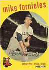 1959 Topps Mike Fornieles Boston Red Sox #473 Baseball Card