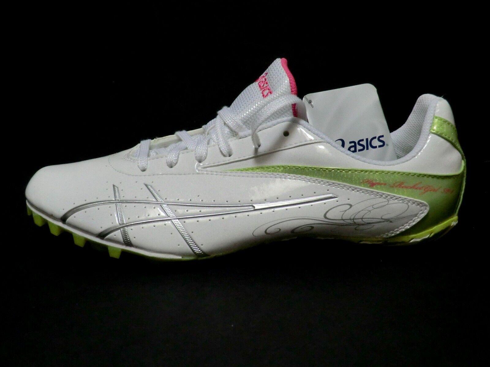 Asics womens 10 Spike sneakers shoes hyper rocketgirl SP4 sprinters new G153Y