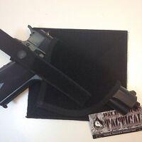 Deluxe Hook & Loop Tactical Pistol Holster Universal Velcro Chest Vest Platform
