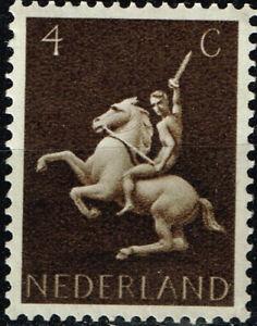 Netherlands Fauna Pets Horse stamp 1952 MNH A-1