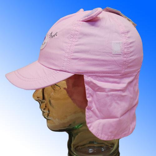 Bébé filles soleil protection légionnaires chapeau bonnet col rabat 3 tailles rapide envoi