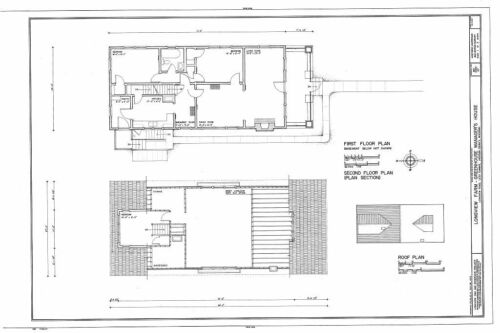 Classic America Bungalow House Plans narrow lot
