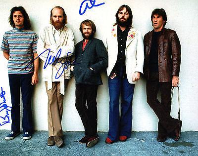 Signed 8x10 Photo Proof Ad3 Coa Relieving Heat And Sunstroke Bruce & Jardine The Beach Boys Gfa Love