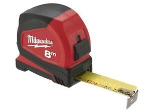 Milwaukee-Hand-Tools-MHT932459594-Pro-Compact-Tape-Measure-8m-Width-25mm-Metr