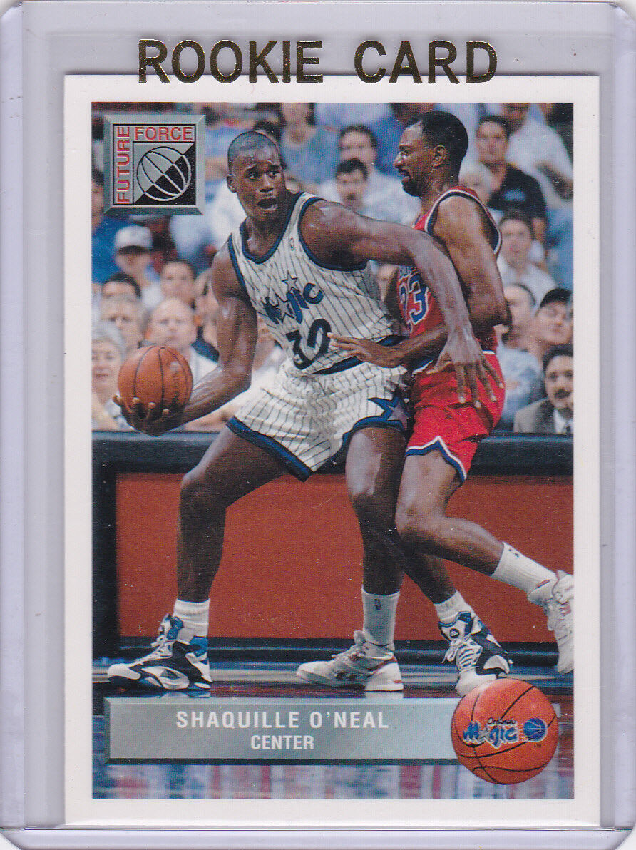 Shaquille Oneal Rookie Card Shaq Rc 9293 Upper Deck Future