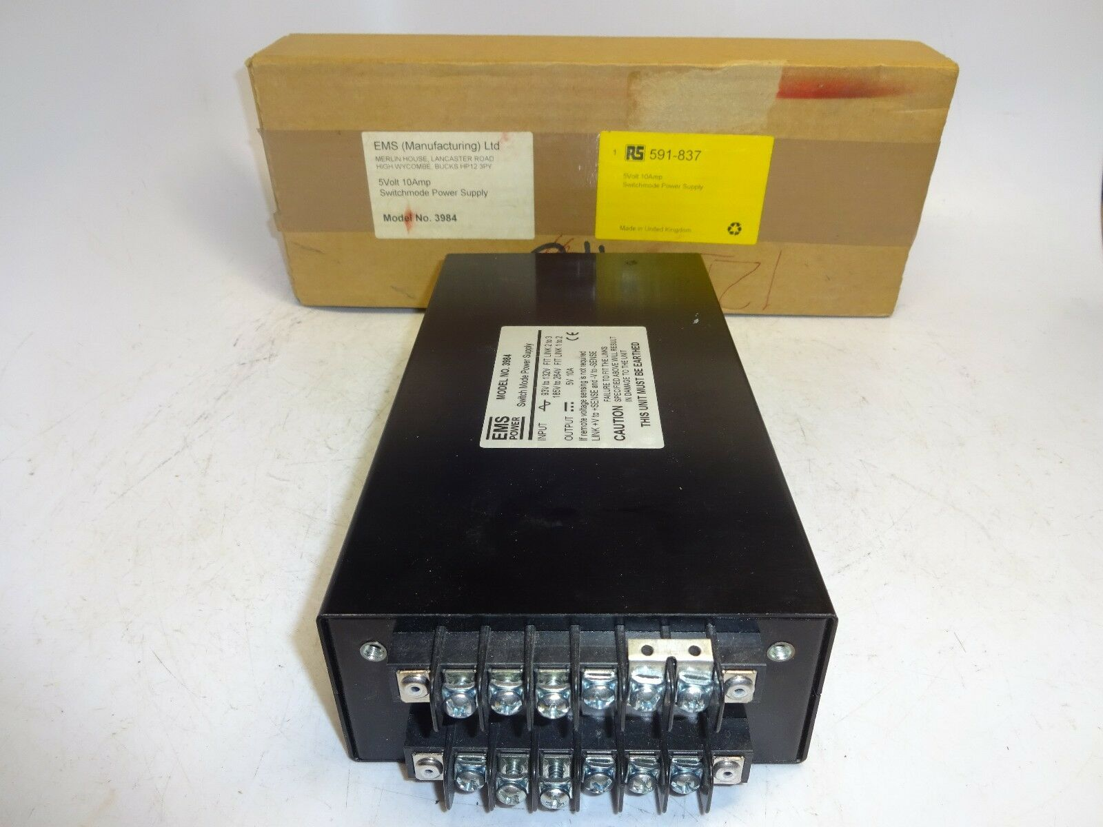 EMS Model 3984 Switch Mode Power Supply 591-837