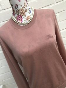Millennial Burburry Sweater Medium Pure Cashmere Delicate Brit Pink xgwqATP
