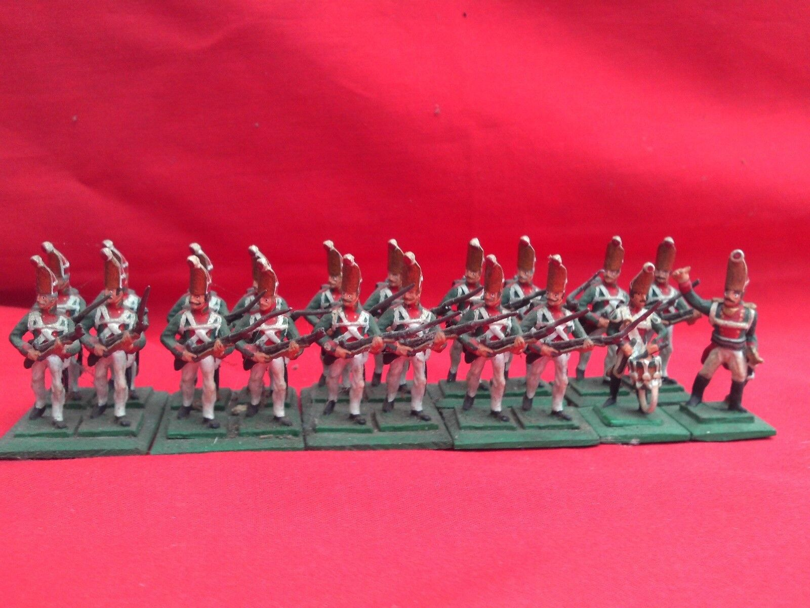 HINCHLIFFE 25 28mm EXPERTLY PAINTED NAPOLEONIC RUSSIAN PAVLOV GRENADIERS X 20