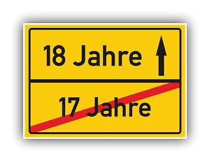 Ortsschild-Deko-Bild-Geschenkidee-zum-18-Geburtstag-Glueckwunsch-Geschenk-Karte