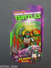 """2012 Nickelodeon TEENAGE MUTANT NINJA TURTLES FLINGERS 6"""" TMNT Figure RAPHAEL"""