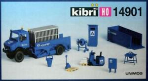 Kibri-14901-H0-UNIMOG-Triebkopfwagen-Hoch-Tief-NEU-amp-OvP