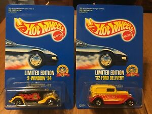 EXCELLENT COND MALT-O-MEAL HOT WHEELS LIMITED EDITION /'32 FORD DELIVERY W// BW