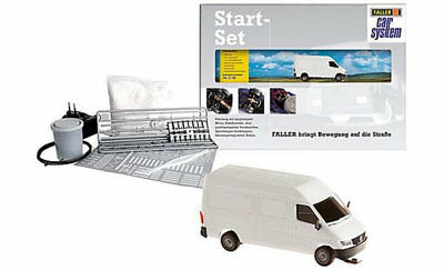 FALLER Car System DHL Starter Set V HO Gauge 161607
