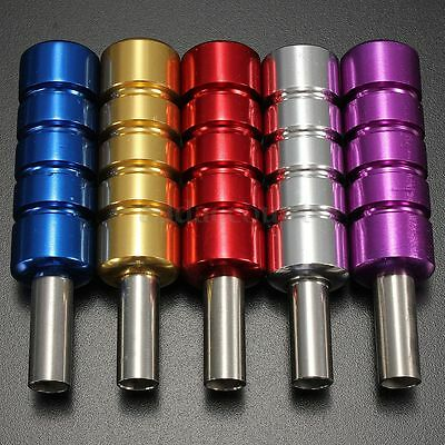Hot 1 Pcs Alloy Aluminum Stainless Tattoo Supply Machine Gun Grip Tube Backstem
