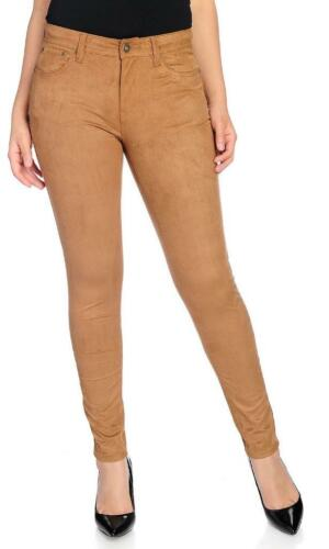 NEW Kate /& Mallory Faux Suede Zipper Front Five-Pocket Slim Leg Pants 8 or 18W