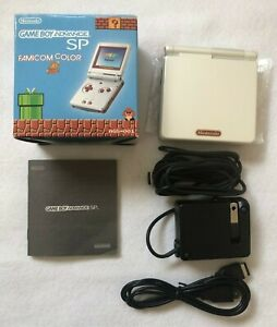 GameBoy-Advance-SP-Console-Famicom-Color-Nintendo-GBA-Limited-Tested-Japan