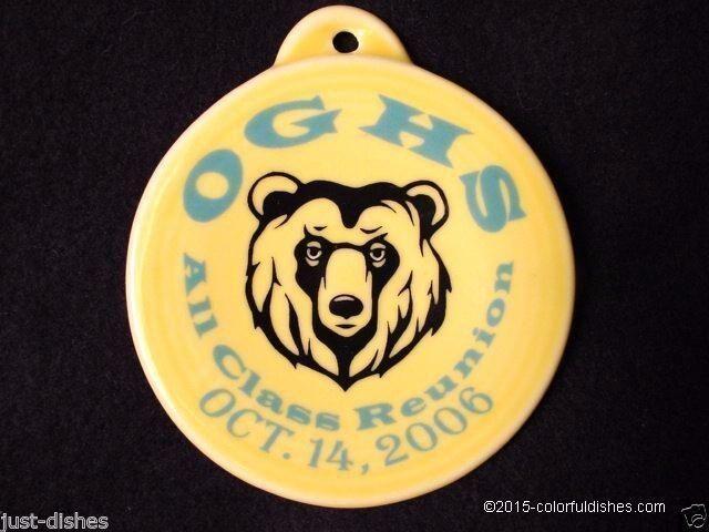 2006 Fiesta® SUNFLOWER Post 86 Oak Glen High School Ornament