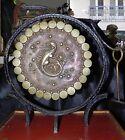 ancien gong en bronze, Chinois Feng Shui Oriental Meubles Dragon Gong asie