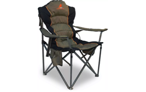NEW OZTENT KING GOANNA CHAIR ADJUSTABLE STRAP PADDED SEATS LOUNGE CAMPING HIKING