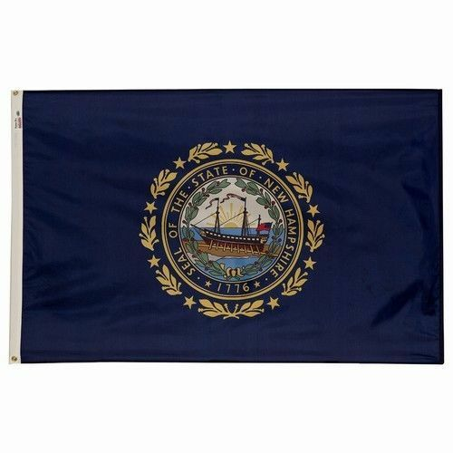 3x5 Nylon New Hampshire State Flag New Hampshire Banner NH State Flag US Made