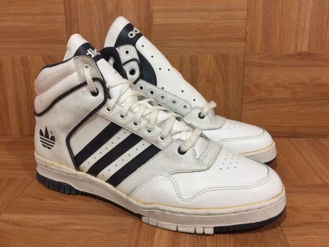 Adidas White Navy Blue Basketball Shoes