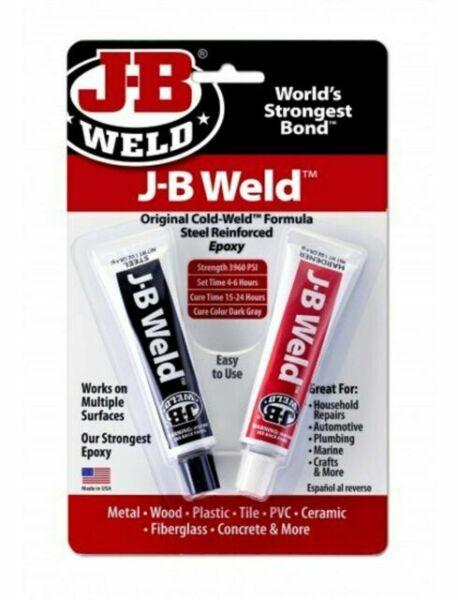 J B WELD STEEL EPOXY BONDING AGENT
