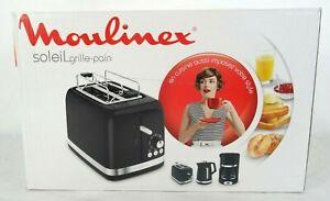 Grille pain soleil Moulinex - Noir - 2 Tranches - Réf LT301810