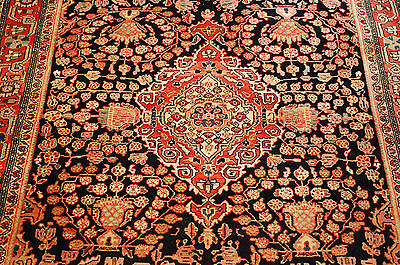c1920s ANTIQUE PERSIAN SAROUK FARAHAN RUG 4.4x6.9 SUPER FINE DETAILED BEAUTY