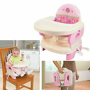 High-Chair-Booster-Seat-For-Toddlers-Infant-Portable-Baby-Traveling-Girls-Pink