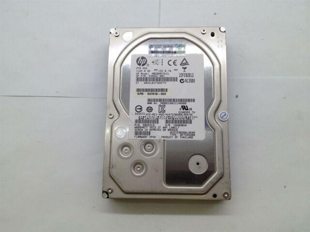 HP 2TB Hard Disc Drive HDD SAS 3.5 MB2000FBUCL 638521-001, USED