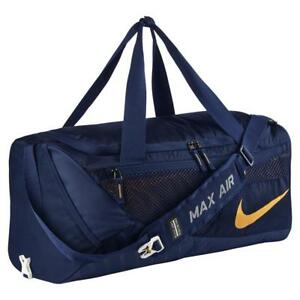 NIKE West Virginia Mountaineers Vapor Air Max Duffel Bag 3174 CU IN ... a5dd3d0ce5b74