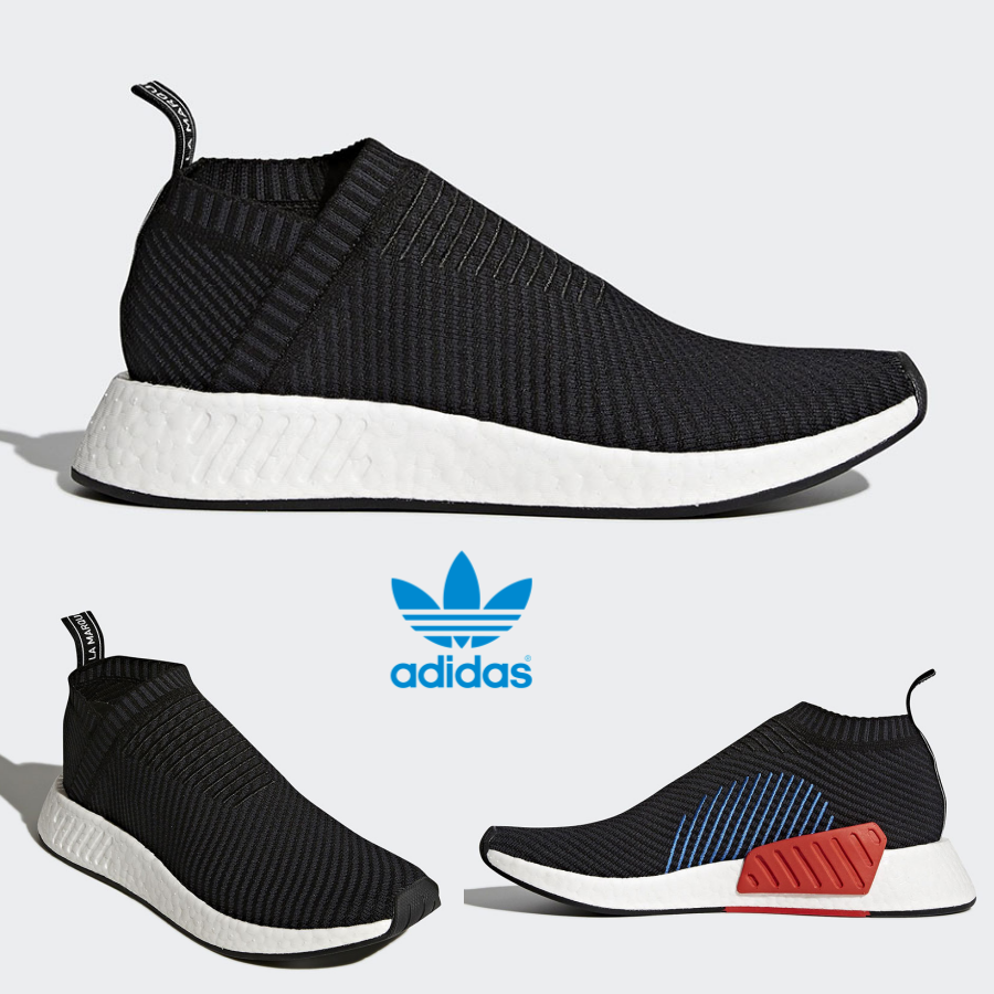 Adidas Original NMD CS3 Boost shoes Running Black Black White CQ2372 SZ 4-11