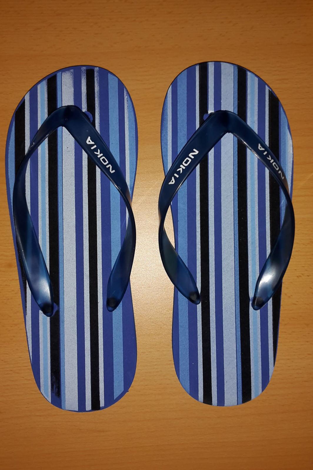 Neue Flip-Flops Größe / Zehentrenner, Größe Flip-Flops L, mit Nokia-Aufdruck 4d0a85