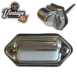 Van-Truck-Boat-Camper-12v-5w-Stainless-Steel-Retro-Courtesy-Interior-Light-Unit