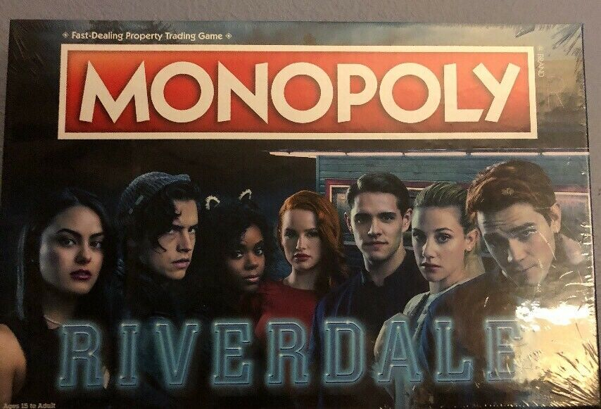 NEW Monopoly  Riverdale Board Game Merchandise FREE SHIPPING
