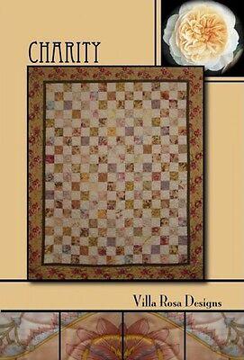 Charity - Quilt Pattern  - Villa Rosa  Designs