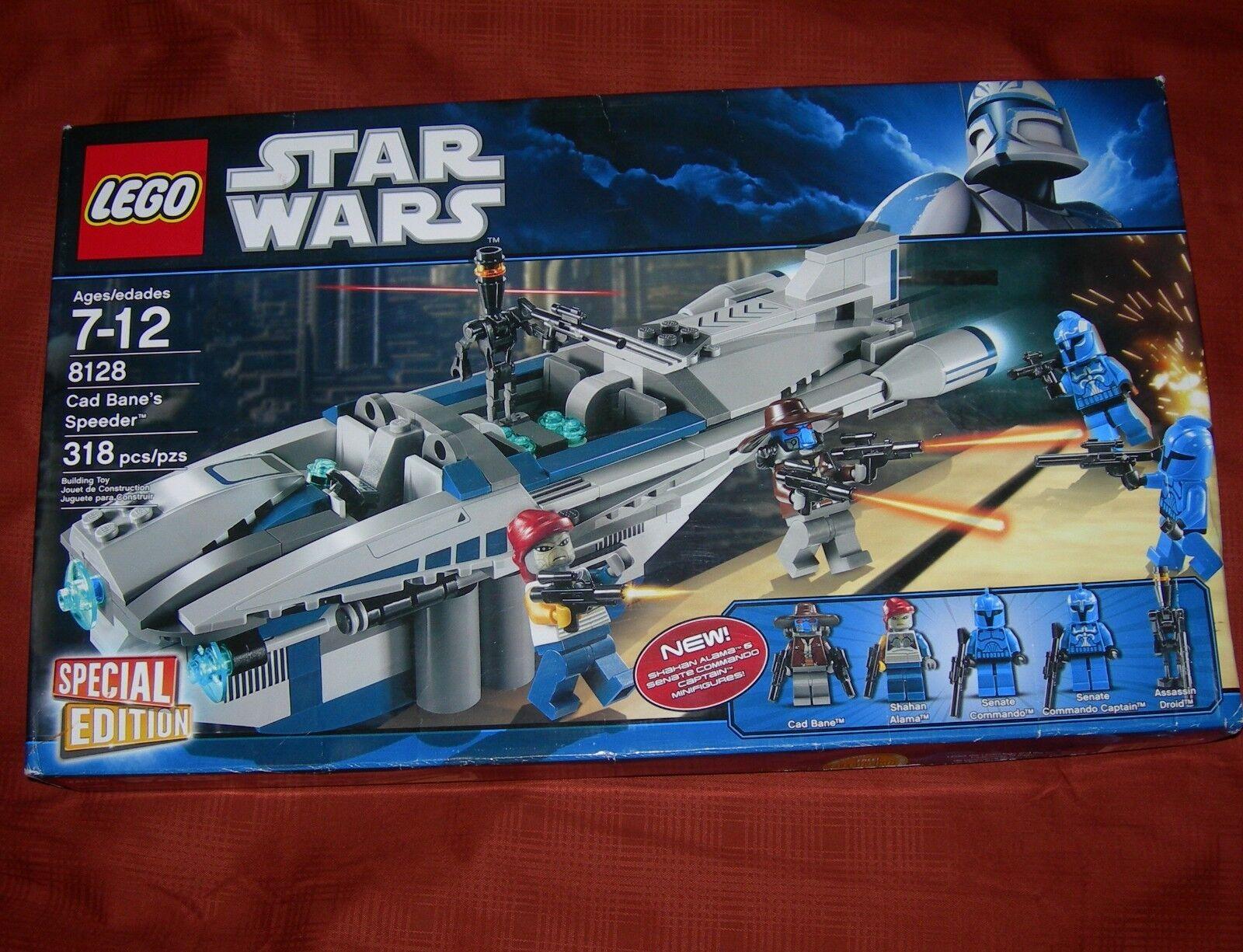 LEGO Set 8128 Star Wars Cad Bane's Speeder RETIrosso Special Edition MISB