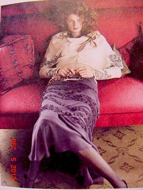 Anthropologie 2005 Gaieties skirt by Odille, 100% silk
