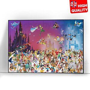 A4 A3 A2 A1 A0  Pinocchio Disney Classic Movie Poster Print T1239