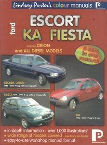 ford escort mk3 mk5 fiesta mk1 mk4 ka petrol diesel 1980 2000 rh ebay co uk ford escort mk4 repair manual ford escort mk4 workshop manual