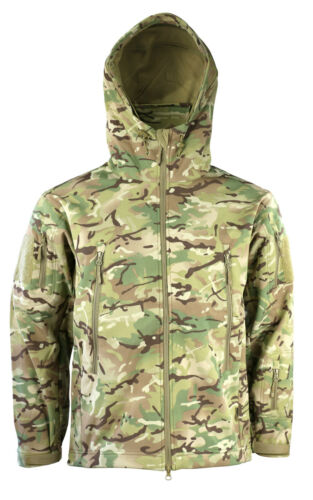 Shark Works With Army Skin Camo Jacket Soft Shell Patriot Mtp Btp Kombat Hooded YvxqwSAP