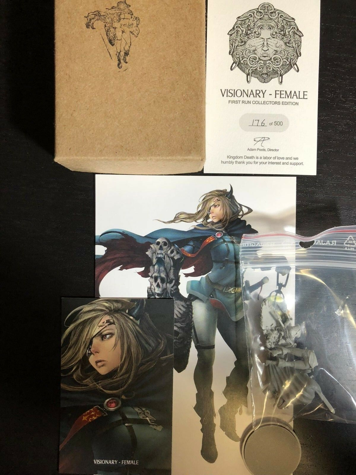 alto descuento Kingdom Kingdom Kingdom Death Visionary Female Limited Collector's Edition Resin  calidad garantizada