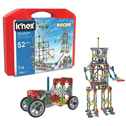 Imagine 25th Anniversary Ultimatebuilder/'s Case Kit, Building Sets K/'NEX KNex