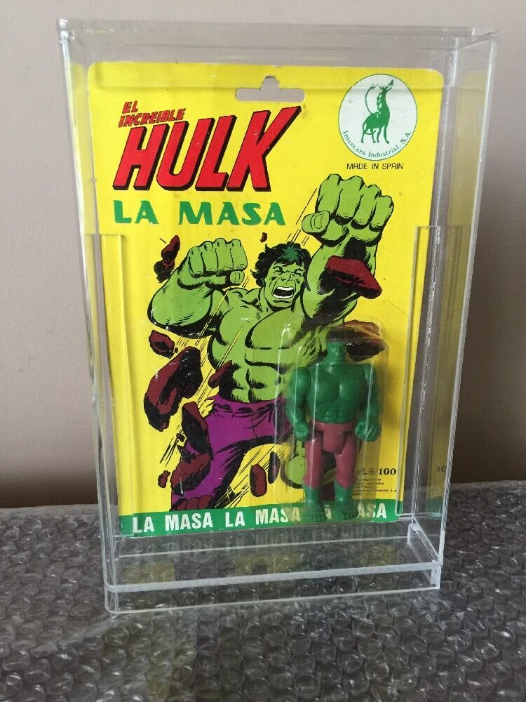 SUPER RARE HULK MEGO MADE IN SPAIN IN 1979 LA MASA -Factory Sealed WOW