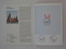 (07j2) Bund Erinnerungsblatt 2007 mit ESST Mi.Nr. 2579 Bistum Bamberg