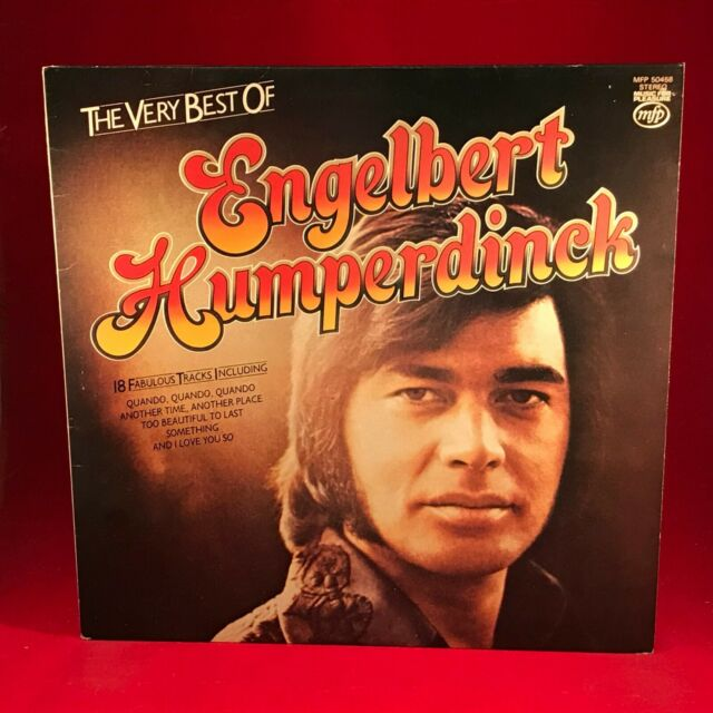 The Very Best Of Engelbert Humperdinck 1976 UK Vinyl LP EXCELLENT CONDITION hits