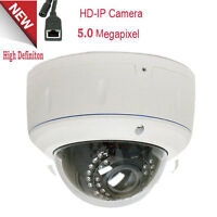 5mp 1080p Poe Ip Cctv Security Camera 2.8-12mm Varifocal Lens 30ir Led Dnr Onvif