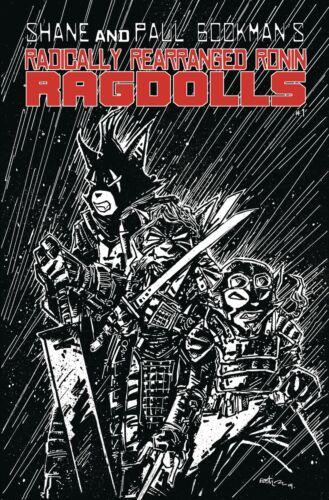 Radically Ronin Ragdolls One Shot #1 Kevin Eastman StudiosCVR A B C D ENM